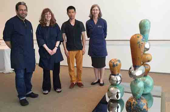 The first acquisition of Contemporary Chinese Sculpture of AIC